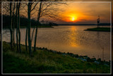 Sunset Over Lake Of Veere 3 by corngrowth, photography->sunset/rise gallery