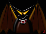 The Cheshire Bat by Jhihmoac, illustrations->digital gallery