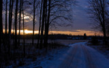 Winter Evening by SEFA, Photography->Landscape gallery