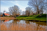 Veere (54), Approaching The Old Tiny Town by corngrowth, photography->shorelines gallery