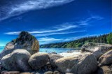 Boulders On The Beach by gr8fulted, photography->shorelines gallery
