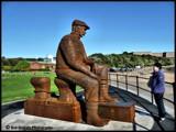 Fiddler's Green Statue by Dunstickin, photography->sculpture gallery