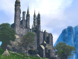 Inskeep Castle in the Highlands by DigitalFX, Computer->Landscape gallery
