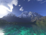 Glacier Lake by Samatar, Computer->Landscape gallery