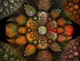 In the Garden by jswgpb, Abstract->Fractal gallery