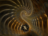 Spinning Gold by jswgpb, Abstract->Fractal gallery