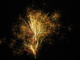 Glittering Fans by Pistos, photography->fireworks gallery