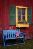 Image: Barb's Backyard Bench