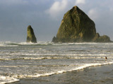 a closer look at haystack rock by jeenie11, Photography->Shorelines gallery