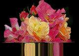 Rose Bouquet Symmetry by verenabloo, Photography->Manipulation gallery