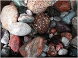 Lake Michigan shoreline garden rocks by LakeMichiganSunset, Photography->Nature gallery
