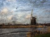 Windmill on panel by rvdb, photography->manipulation gallery