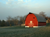 Barnyard, Early Morning Mist by haymoose, Photography->Architecture gallery