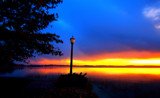 Moody Sunrise on Lake Wawasee by tigger3, photography->sunset/rise gallery