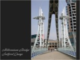 Picture Postcard - Millennium Bridge by fogz, Photography->Architecture gallery
