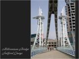 Picture Postcard - Millennium Bridge by fogz, Photography->Architecture gallery