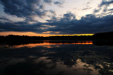 Days End On Spear Lake - The Last Reflections by tigger3, Photography->Sunset/Rise gallery