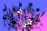 Flowers Illustration 2 by bfrank, illustrations gallery