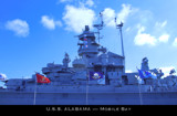 U.S.S. Alabama Broadside by Nikoneer, photography->boats gallery