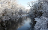 Frosted River by Tomeast, photography->shorelines gallery
