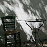 A Chair and Table, Kythera by Vickid, photography->general gallery