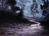 WALKING AFTER MIDNIGHT by nuke88, illustrations->traditional gallery