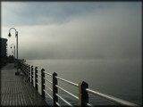 Foggy Morning on the Board Walk by icedancer, photography->shorelines gallery