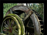 Water Wheel at  Rest by LynEve, Photography->Still life gallery