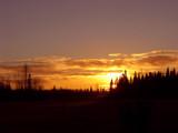 Alaska Fall Sunset by PamParson, Photography->Sunset/Rise gallery