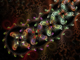 Chain Reaction by Hottrockin, Abstract->Fractal gallery