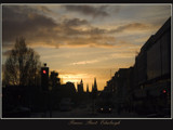 Sunset on Princes Street... by fogz, Photography->Sunset/Rise gallery