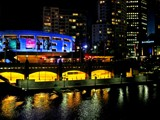 Yarra Night Lights by LynEve, Photography->City gallery