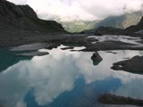 Melted glacials in Alpes #1 by Gothic, photography->mountains gallery