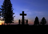 Cross Silhouette rework by Gergie, photography->sunset/rise gallery