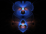 Crystal Blues by jswgpb, Abstract->Fractal gallery