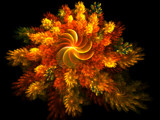 Brilliance Of Fall by Joanie, Abstract->Fractal gallery