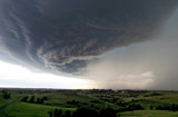 Shelf Cloud Over Mandan by Nikoneer, photography->skies gallery