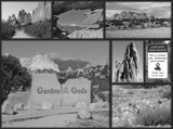Garden of the Gods - B/W Collage by icedancer, contests->b/w challenge gallery