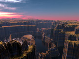 Ring Canyon by Foxfire66, Computer->Landscape gallery