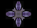 Purple Cross by doubleheader, Abstract->Fractal gallery
