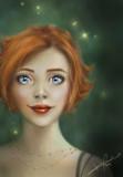 Those Eyes by PrettyFae, Illustrations->Digital gallery