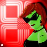 Mod Vampiress by Jhihmoac, illustrations->digital gallery