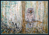 Hungry owl by rotcivski, illustrations->traditional gallery