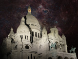 Starry Sacre Coer by Paul_Gerritsen, Photography->Places of worship gallery