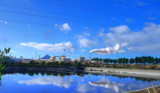Blue skies and steam by tanimara, Photography->mills gallery