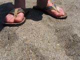 On Holiday - Sandy Feet by suitsandshoes, Photography->Shorelines gallery