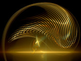 Golden Dolphin by jswgpb, Abstract->Fractal gallery