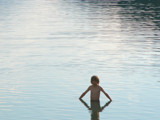 Boy in the Alpsee by DigitalFX, photography->people gallery