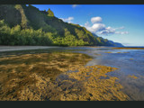 ke'e beach at low tide by jeenie11, photography->landscape gallery