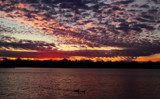 Sunset On Center Lake #2 by tigger3, photography->sunset/rise gallery
